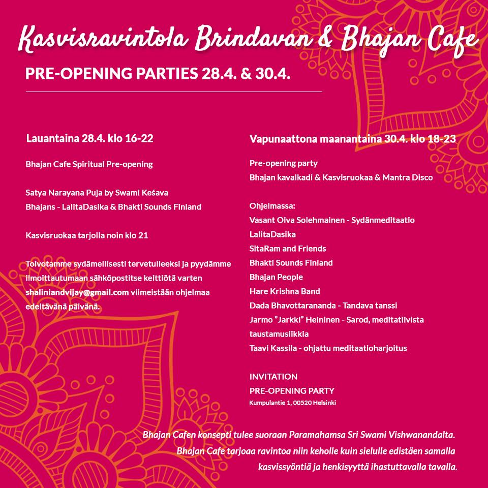 Brindavan opening party